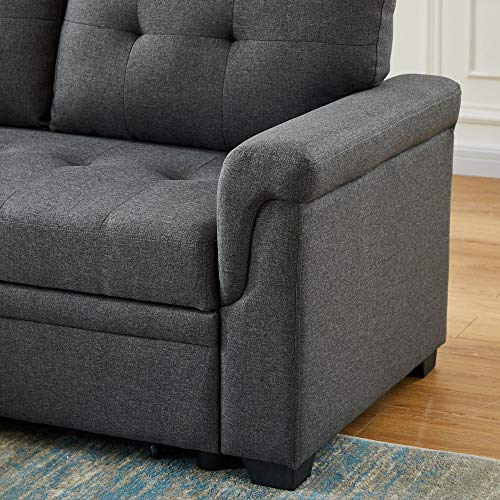 Lilola Home Reversible Sleeper Sectional Sofa