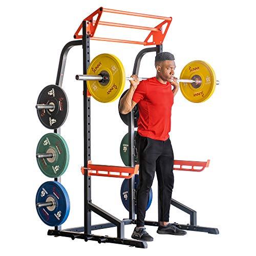 Sunny Health & Fitness Power Zone Half Rack SF-XF9933