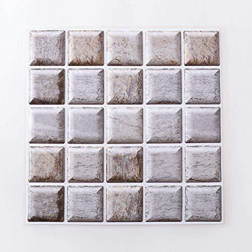 Piedra de Ladrillo Paneles de Pared Autoadhesivos Papel pintado 3D autoadhesivo 3D de ladrillo etiqueta de la pared decoración decoración etiqueta de la pared extraíble imitación ladrillo pared decora