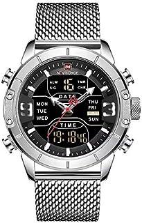 Navi Force Sport watch Stainless Steel Digital Men's watch - NF-9153