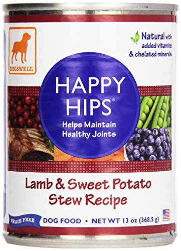 Price comparison product image Dogswell,  Happy Hips,  Canned Food,  Lamb & Sweet Potato,  13 oz