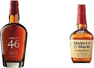 """Maker""""s 46 Bourbon  Maker""""s Mark Kentucky Straight Bourbon Whisky 2 x 0.7 l"""