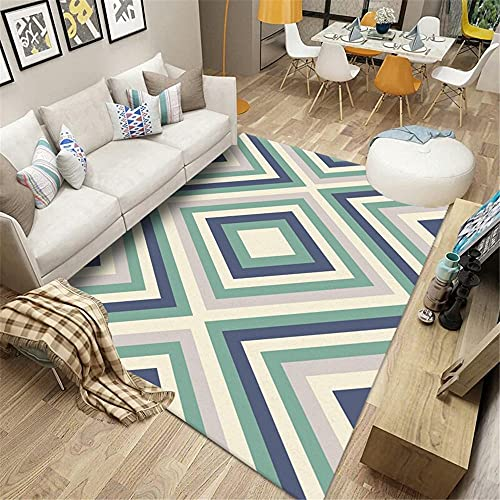 Kunsen alfombras Grandes Baratas Infantiles Protección del Medio Ambiente y antiácaros de la Alfombra del Dormitorio del...