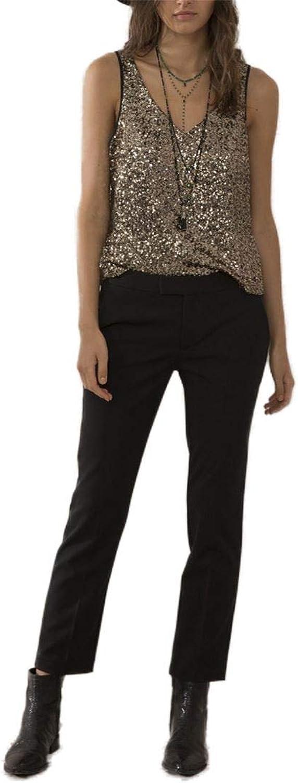 Sack's  Women's Andrea Straight Leg Pant  Black