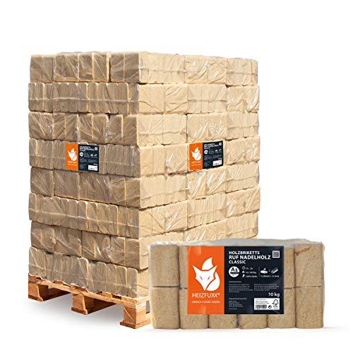 Hartholz-Briketts Gebinde 960kg