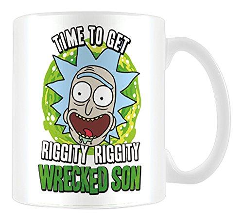 Taza Rick y Morty Wrecked Son