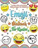 Emoji Malbuch Für Kinder: Spaß Emoji Buch für Kinder, Jungen, Mädchen, Jugendliche und Erwachsene. Witziges Zeug & Tolle Seitedesign.