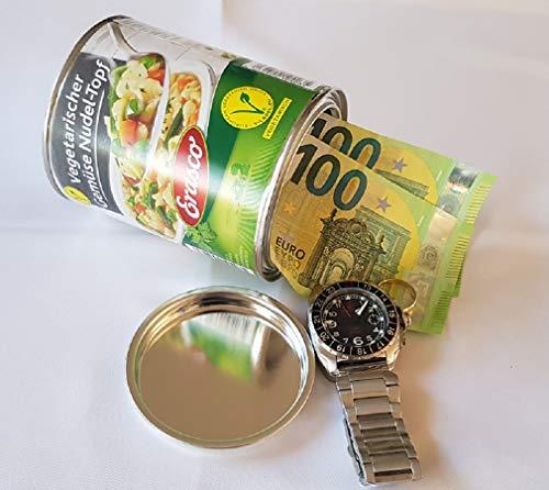 Cases kluis – geheime verstopplaats voor munten, geld, sieraden enz. – verschillende designs – ca. 12,0 cm x 10,0 cm –