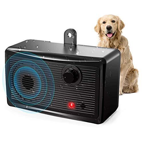 CYWEB Anti-Bellen-Gerät, Ultraschall-Hundebellen Hunderkontrolle für den Innen Außenbereich Anti Bellen Stop Rinde Handheld Hunde Trainingsgerät für Hunde Bellkontrolle