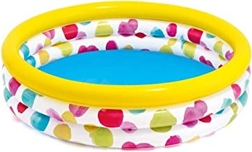 Piscina familiar hinchable Colorido de la ondulación piscina inflable bola de piscina infantil piscina familiar Piscina interior y exterior Piscina familiar ( Color : Multi-colored , Size : One size )