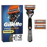 Gillette Fusion Proglide Power - Cuchillas de afeitar para hombre