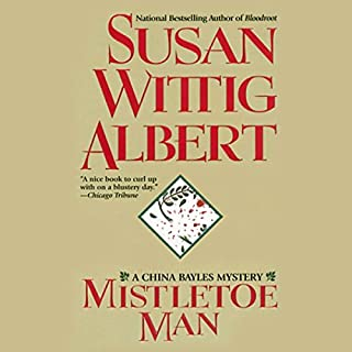 Mistletoe Man audiobook cover art