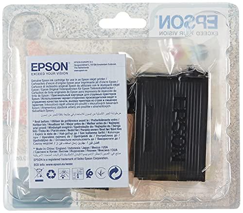 Epson Multipack 4 Colores 603 | Tinta Original | Cartuchos para Impresoras Expression Home XP-2100, XP-2105, XP-3100, XP-3105, XP-4100, XP-4105 y Workforce WF-2810, WF-2830, WF-2835, WF-2850
