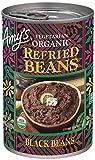 Amy's, Beans Refried Black, 15.4 oz...