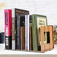 丈夫な本棚、高品質の木製デスクトップ本棚、オフィスホームのブックスクール(Cherry wood)