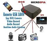 Incluye micrófono espía de grabación de vídeo y audio con activación mediante SMS o...