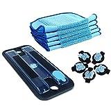 MZXUN Piezas para Braava 380T 380T 320 Mint 4200 5200 Cleaner de aspiradora MOP Pad Pro-Clean FRUEBLO por EMBRESO Clean Pad Cap Y MOP