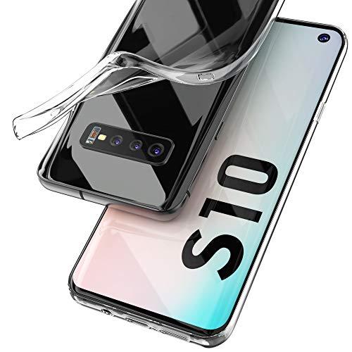 UTECTION Handyhülle Transparent für Samsung Galaxy S10 (6.1