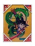 SD Toys Glas Kid Goku and Shenron Poster Dragon Ball