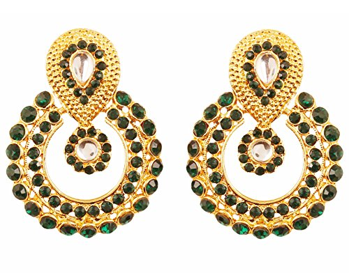 Elegant Round Dangling Earrings - 4