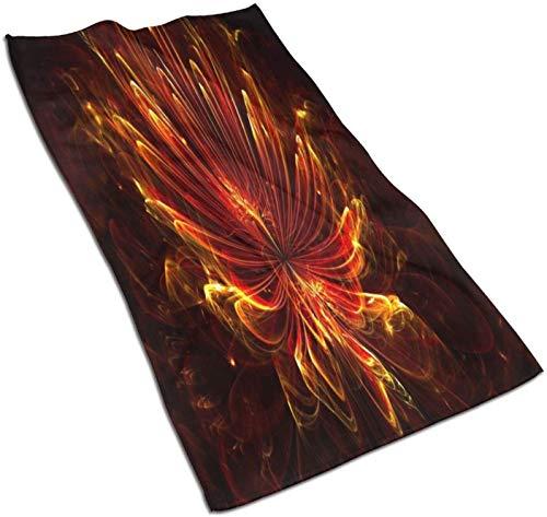 Schöne Flammenblumen Mikrofaser...