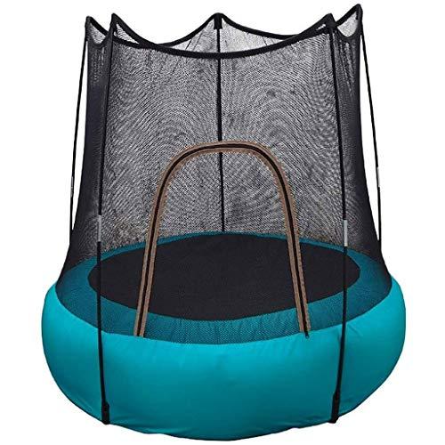 AYWJ Trampolines Exterior Elastico Trampolín Inflable para Niños Cama para Saltar Trampolín Juego Al Aire Libre, PVC, Tela Nylon