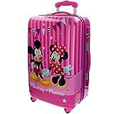 Disney Mickey & Minnie Party Equipaje Infantil, 53 litros, Color Rosa