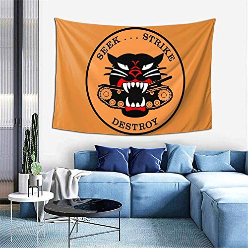 Tapiz M18 Hellcat-Seek Strike & Destroy 2 tapiz 60x40 pulgadas tapiz artístico decoración del hogar decoración personalizada para el hogar