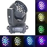 Boulder Pro 19x15W Zoom Beam Wash Moving Head Light for Stage Lighting Effect with RGBW 4in1 LED and Dmx Control Dj Disco and Nightclub