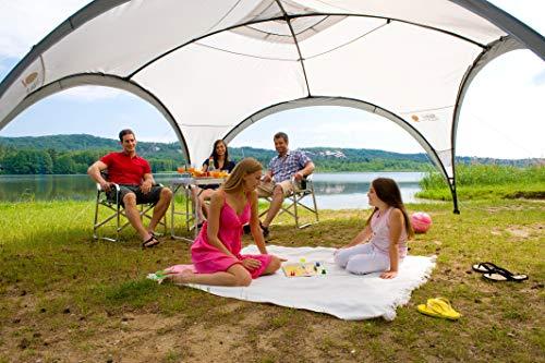 Coleman Event Shelter Pavillon, Regen- und Sonnenschutz Gartenpavillon für Partys, Strände, Festivals, Sportveranstaltungen oder Campingplätze, Stabile Stahlstangen Konstruktion, Hoher UV- Schutz - 5