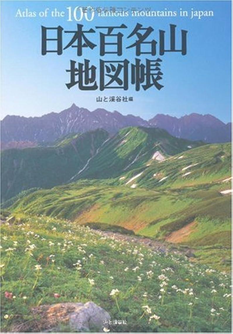 ギャザー織機ベスビオ山日本百名山地図帳 (2008年版)