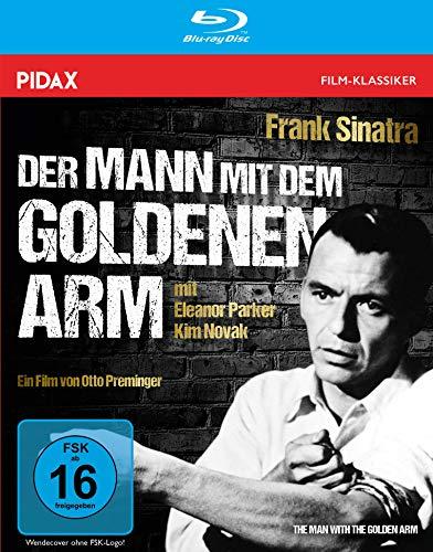 Der Mann mit dem goldenen Arm (The Man with the Golden Arm) / Legendäres Meisterwerk mit Frank Sinatra (Pidax Film-Klassiker) [Blu-ray]