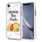 Phone Case for iPhone XR Case, Clear Phone Case Individualized Design Cover Case (Winnie-The-Pooh)