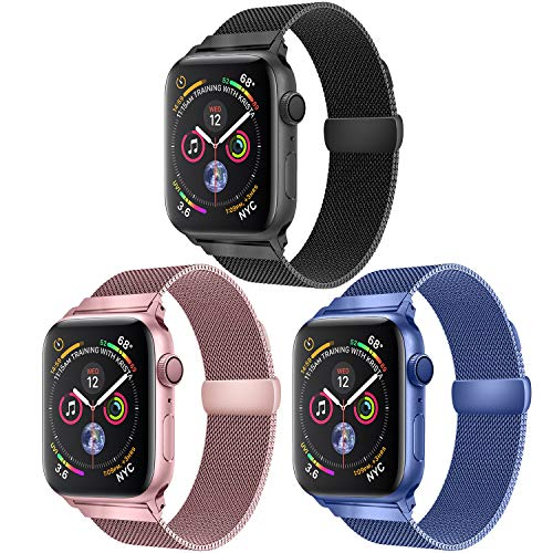 Stan Lee Stainless Band Compatible with for Apple Watch Band 38mm 42mm 40mm 44mm,tainless Steel Loop Magnetic Band Compatible with for Iwatch Series 6/5/4/3/2/1