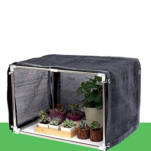MAHFEI Mini Serre, Portable Serre De Jardin Couverture De Pot De Fleurs Extérieur Intérieur en PVC Abri De Protection Contre Le Gel des Plantes d'hiver avec Filet D'ombrage