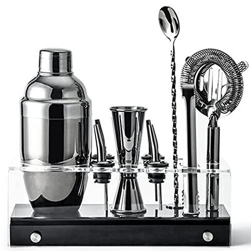 Cocktail Shaker,Coctelera, Coctelera Para Cocteles, Cocktail Kit, Kit Cocteleria, Para Hogar, Bar Y Fiesta,C