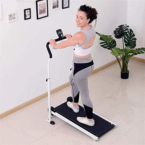 Cinta de correr plegable for y oficina, Mini Manual de caminadora mecánica, cubierta la pérdida de peso…