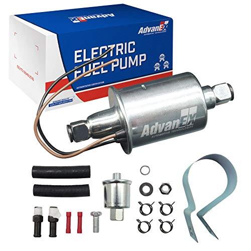 AdvanEX Universal Electric Fuel Pump 12V Low Pressure Gasoline Diesel...