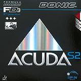 Donic Acuda S2 - Rivestimento, Nero , 1,8 mm...