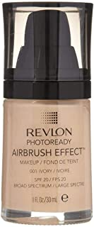 Revlon PhotoReady Airbrush Effect Foundation, 001 Ivory