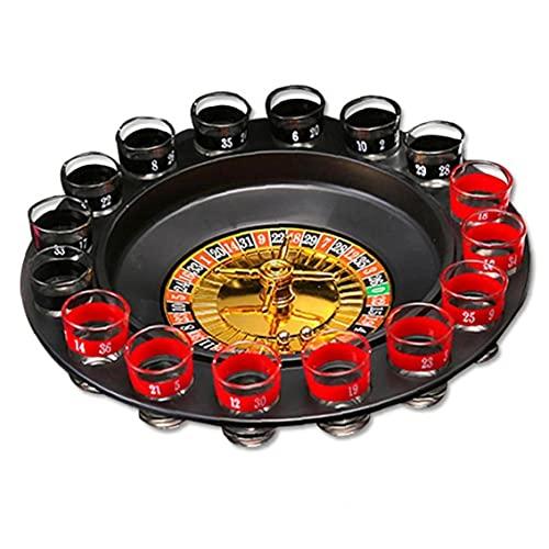 Beber Ruleta, Juegos Potable Juegos De Mesa para Adultos Partes Shot Ruleta Spinning Juego Set Potable
