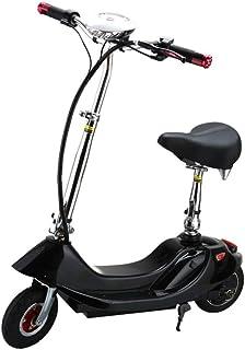 Scooter Eléctrico Unisex para Adultos, Citybikes 8 Pulgadas 2 Ruedas Altura Ajustable Y Plegable 300W