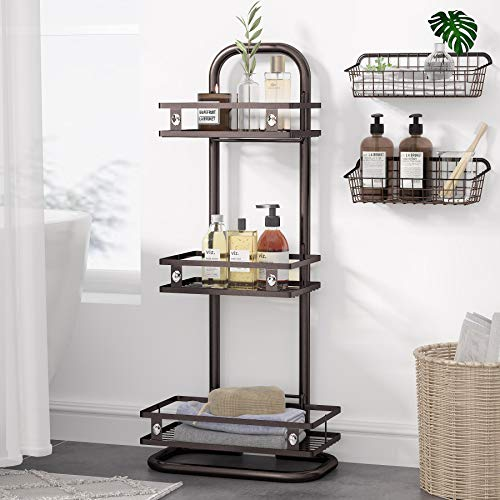 3-tier standing shower caddy