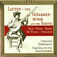 Lute & Guitar Music of the Baroque Era by Christian Zimmermann
