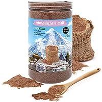 Nortembio Sal Negra del Himalaya 1,35 Kg. Extrafina (0,5-1 mm). 100% Natural. Sin Refinar. Sin Conservantes. Extraída a Mano