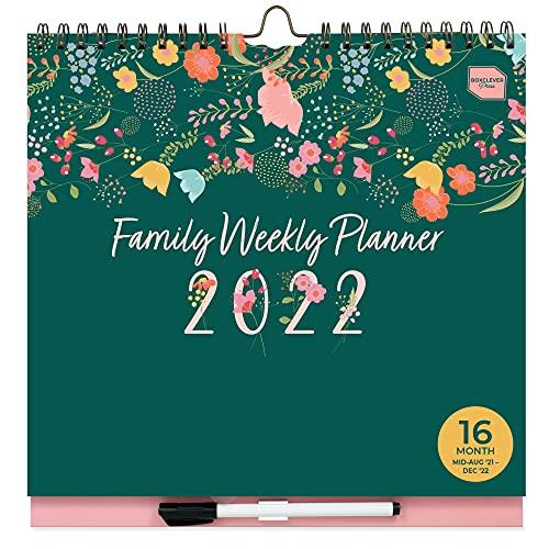 (in inglese) 'Family Weekly Planner' Boxclever Press calendario 2021 2022. Calendario da...