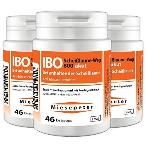 Miesepeter Kaugummi - IBO Scheißlaune-Weg 800 akut - 3er Pack