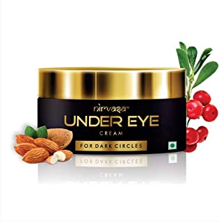 Nirvasa Under Eye Cream Enriched with Natural Oils to Remove Dark Circles & Wrinkles Suitable for Women and Men – 50 gm