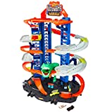 Hot Wheels Ultimate Garage, garaje y pista para coches de juguete (Mattel GJL14) (Juguete)