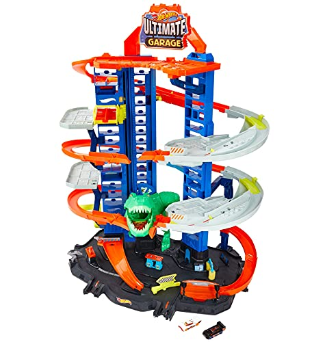 Hot Wheels Ultimate Garage, garaje y pist...